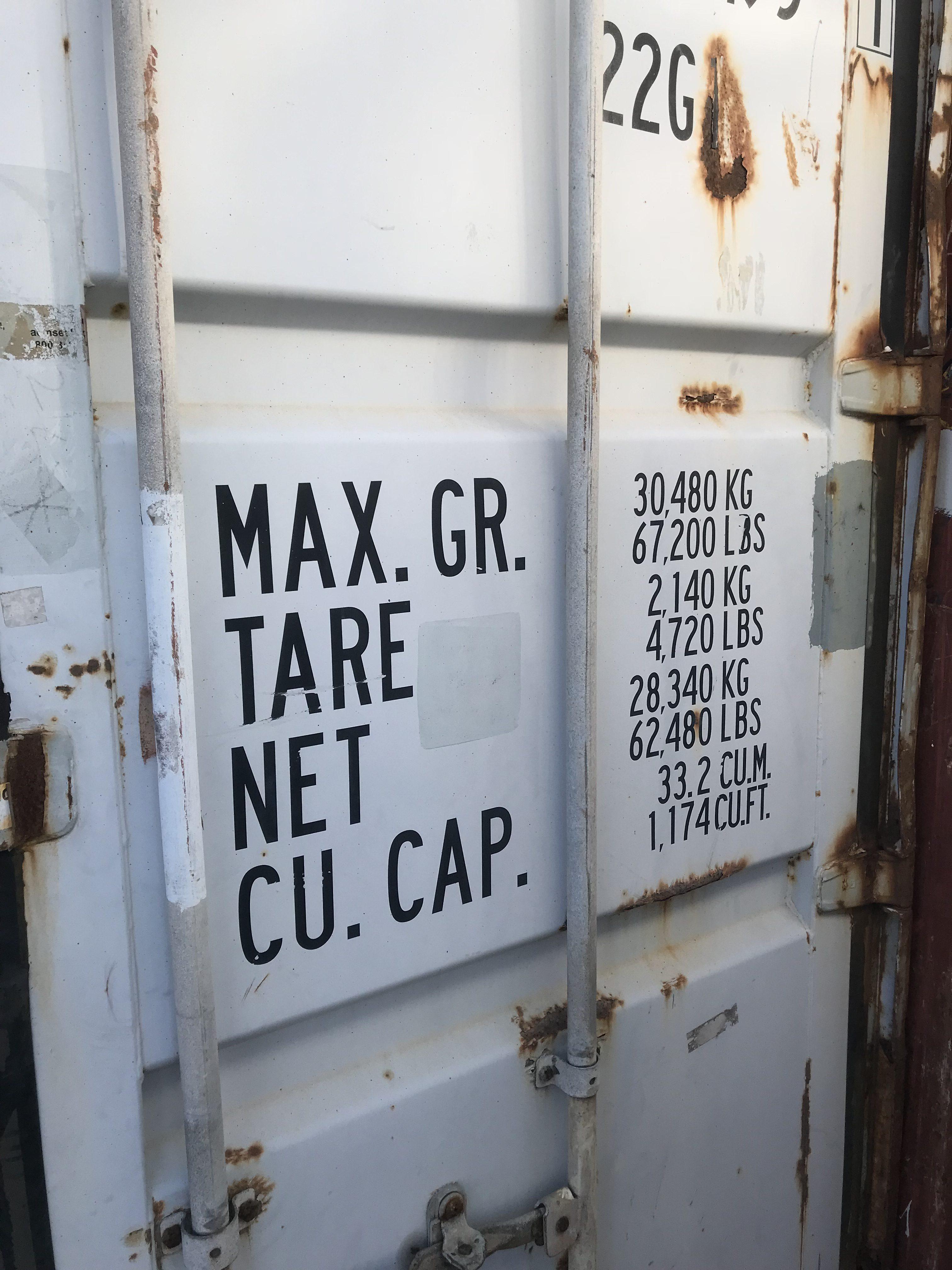 Seecontainer 20ft gebraucht